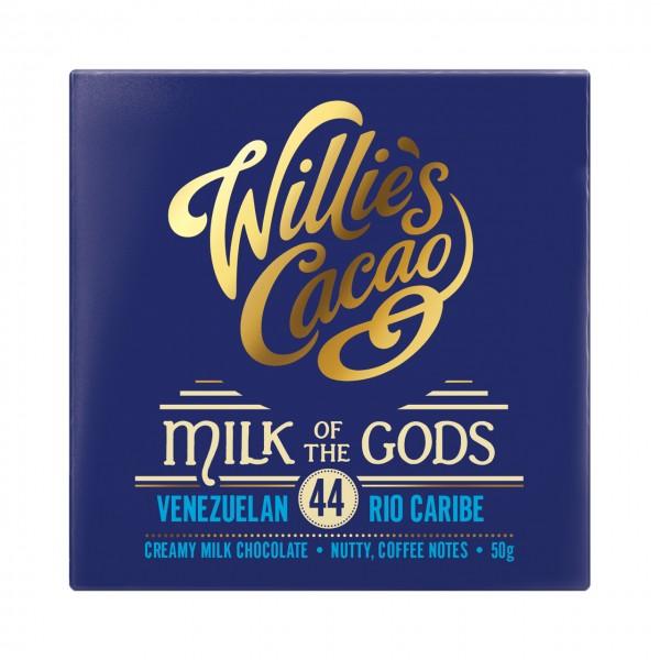 Willie`s Cacao - Göttlich reine Milchschokolade