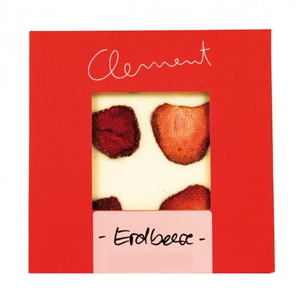 Clement Chococult - Weiß + Erdbeere