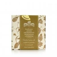 Rózsavölgyi - Dunkle Tafelschokolade mit Fenchel, Kakaonibs und Pálinka