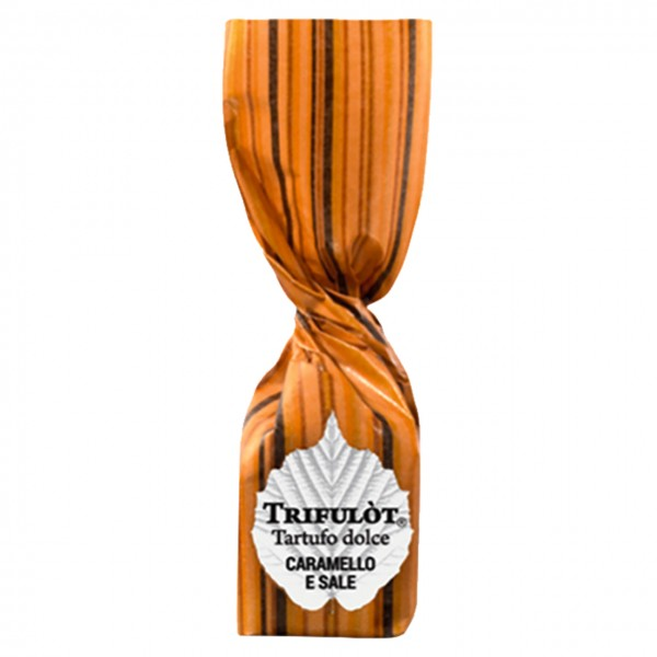 Tartuf Langhe - Mini Trifulòt - Tartufo dolce Caramello & Sale