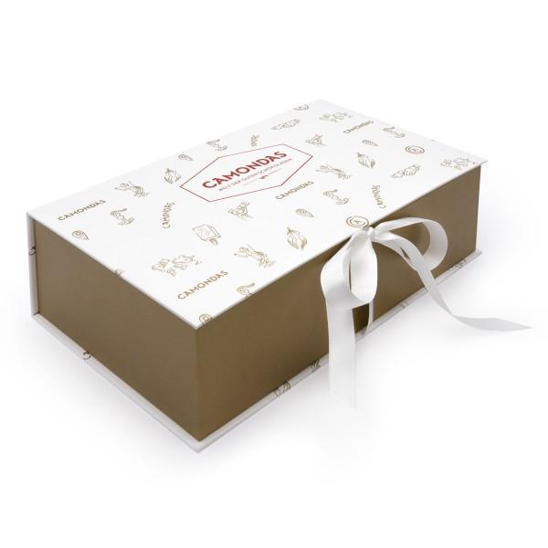 CAMONDAS - Genussbox für Schokoladen weiß