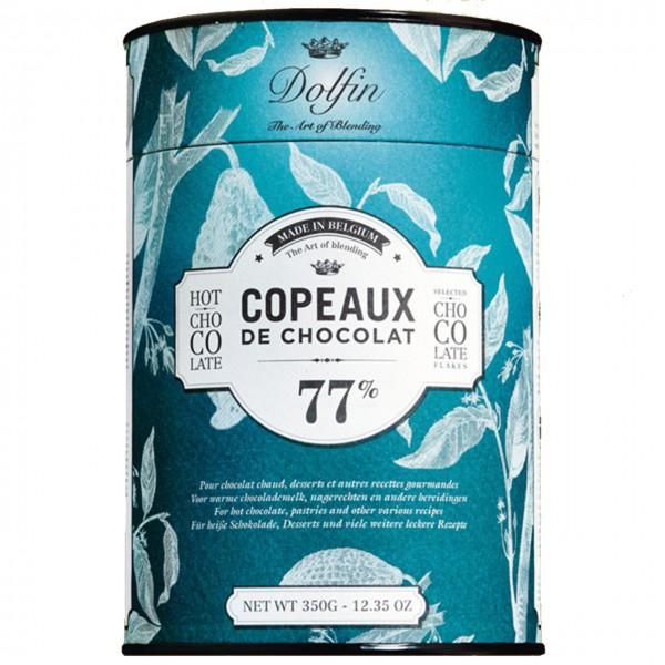 Dolfin - Heiße Trinkschokolade 77% Kakao in der Dose