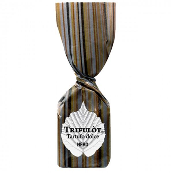 Dunkler Schokoladentrüffel mit Piemont Haselnüssen - TartufLanghe