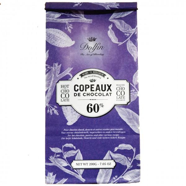 Dolfin - Heiße Trinkschokolade 60% Kakao in der Tüte