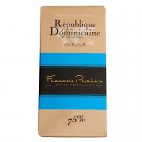 François Pralus - Dunkle Schokolade 75% Trinitario-Kakao aus der Dom. Rep.