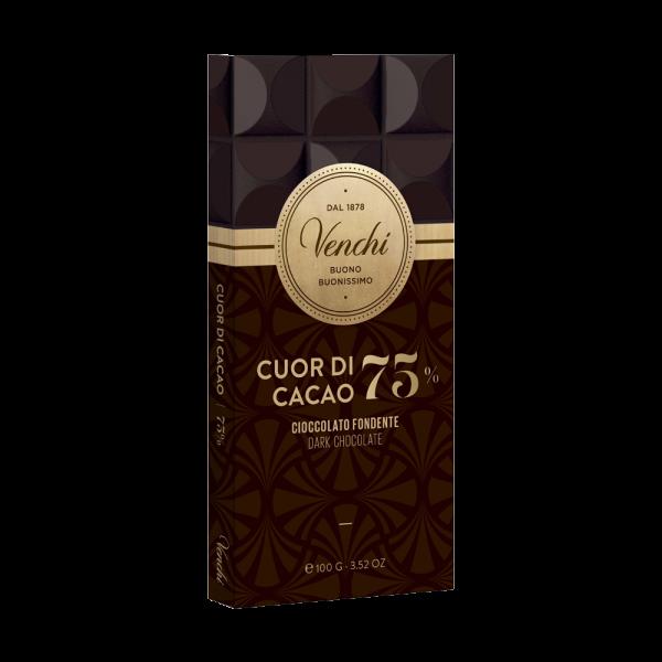 Venchi - Dunkle Schokolade mit 75% Kakao