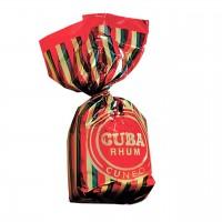 Venchi - Praline aus dunkler Schokolade mit Rum-Füllung
