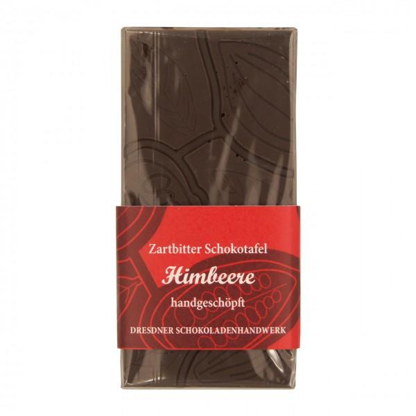 Dresdner Handwerk - Tafel Dunkle Schokolade mit Himbeer