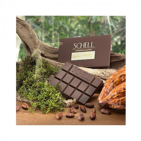 Schell - Dunkle Schokolade aus wilden Criollo-Kakao