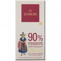 Domori - Dunkle Criollo-Tafel mit 90% Kakao