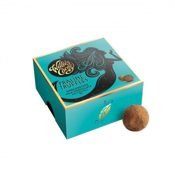 Willie`s Cacao - Schokoladentrüffel mit Meersalz