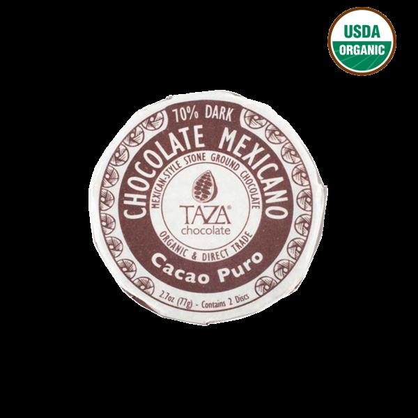 Taza - Dunkle Schokolade aus Purem Kakao 70%