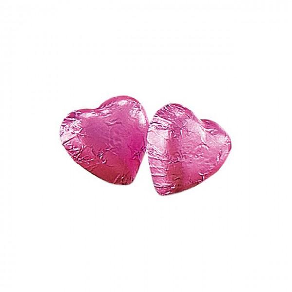 Caffarel - Vollmilch-Schokoladenherzen in rosa