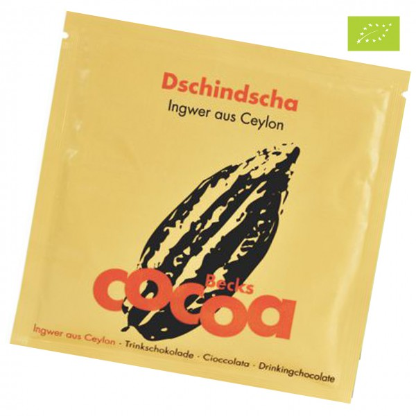 Becks Cocoa - Bio-Kakao mit Ingwer aus Ceylon im Portionsbeutel