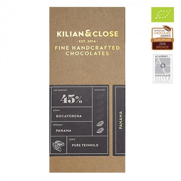 Kilian & Close - Bio Kokosmilch-Schokolade mit Kokosblütenzucker