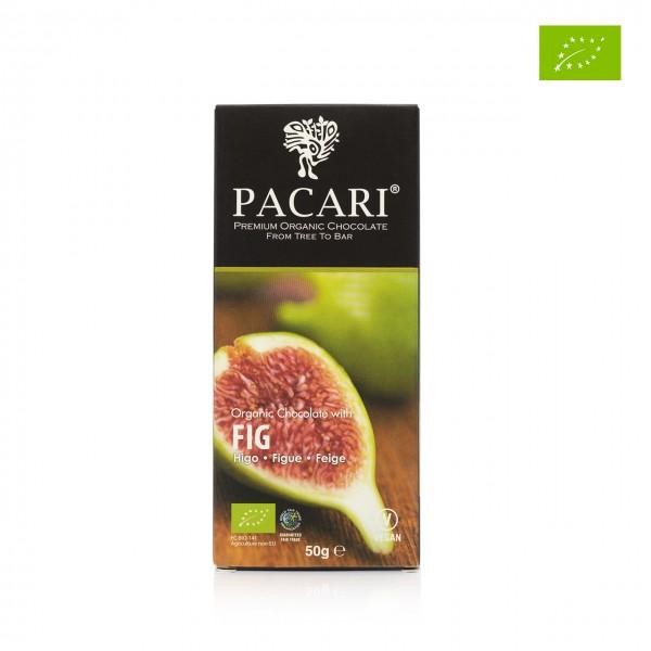 Pacari - Dunkle Bio-Schokolade mit Feige