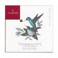 Domori - Dunkle Trinitario-Tafel aus Kolumbien