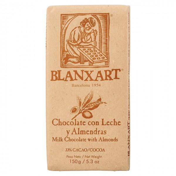 Blanxart - Vollmilchschokolade & Mandeln