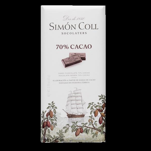 Simon Coll - Pure Dunkle Schokolade 70%