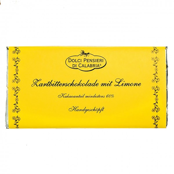 Dolci Pensieri Dunkle Schokolade Limone