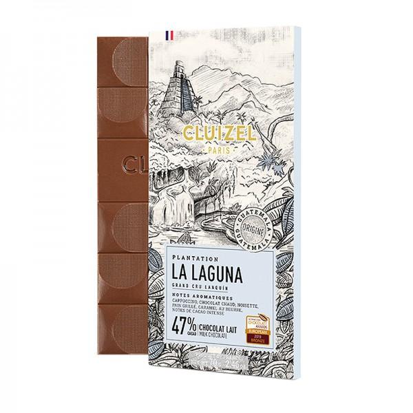 Michel Cluizel - Vollmilchschokolade La Laguna mit 47% Kakao