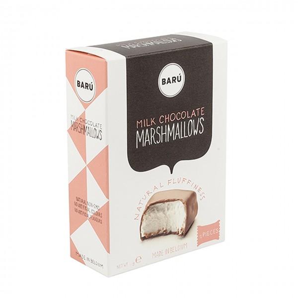 Barú Marshmallows in Milchschokolade