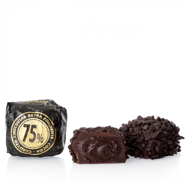 Venchi - Chocaviar Praline mit 75% Kakao