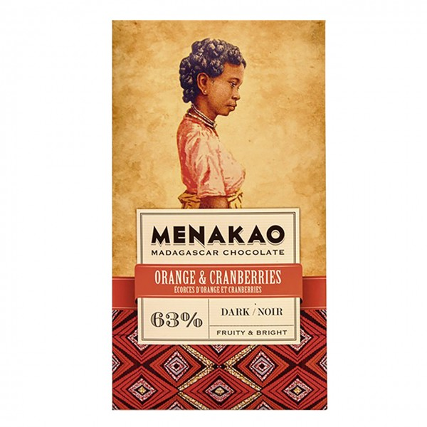 Menakao - Orange & Cranberries, Dark 63%