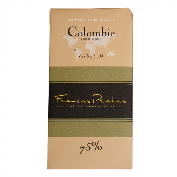 François Pralus - 75% Trinitario-Kakao Schokolade Kolumbien