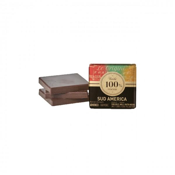 Venchi - Dunkle Napolitain-Schokolade aus Südamerika 100%