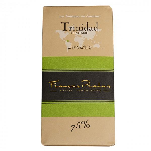 François Pralus - 75% Trinitario-Kakao Schokolade Trinidad