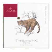 Domori - Dunkle Trinitario-Tafel aus Peru