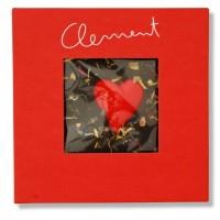 Clement Chococult - Dunkle Valentinsschokoladel mit Herz