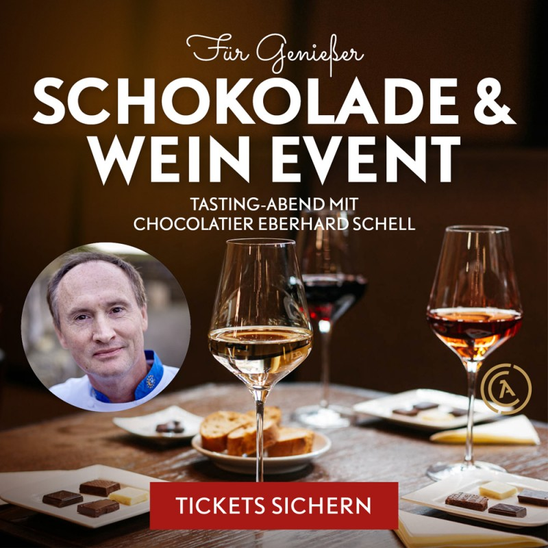 Schokolade & Wein Tasting-Abend mit Eberhard Schell