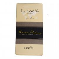 François Pralus - Dunkle Schokolade 100% Criollo-Kakao