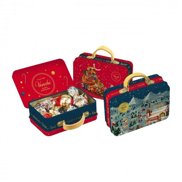 Venchi - gefüllter Weihnachtskoffer