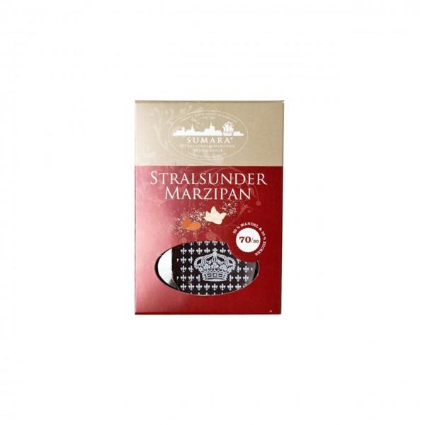 Sumara - Marzipan-Tafel mit dunkler Schokolade überzogen