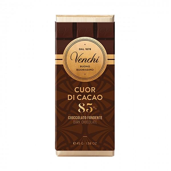 Venchi - Kleintafel Dunkle Schokolade mit 85% Kakao