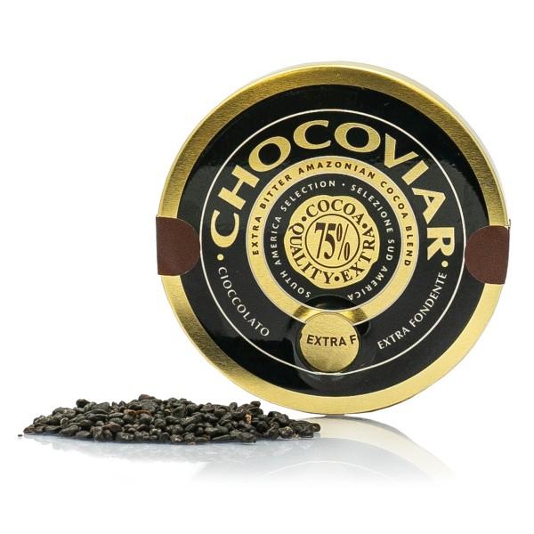 Venchi - Chocaviar Schokokügelchen Spenderdose