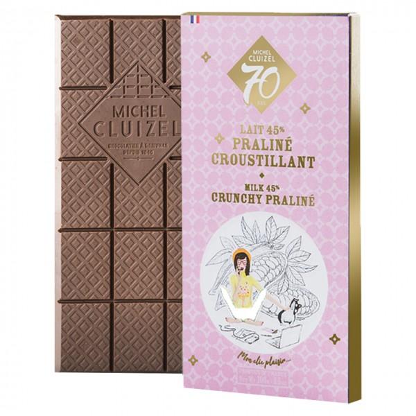 """Michel Cluizel - Jubiläumsschokolade """"70 ans"""""""