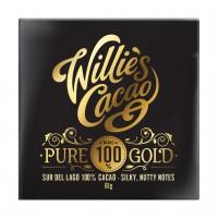 Willie`s Cacao - Pure Gold - 100%ige Ursprungsschokolade