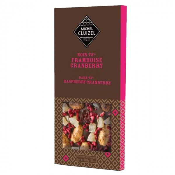 Michel Cluizel - Noir 72% Framboise-Cranberry