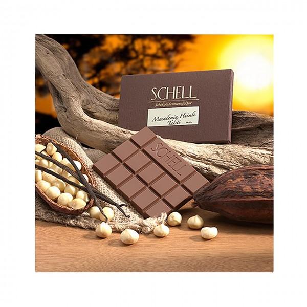 Schell - Vollmilchschokolade mit Macadamia