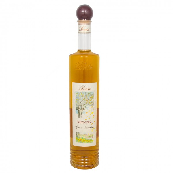 Distillerie Berta - Monprà Grappa 12 Monate gereift im Eichenfass