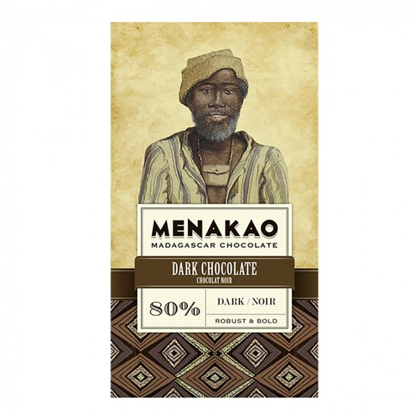 Menakao - Dark Chocolate, Dark 80%