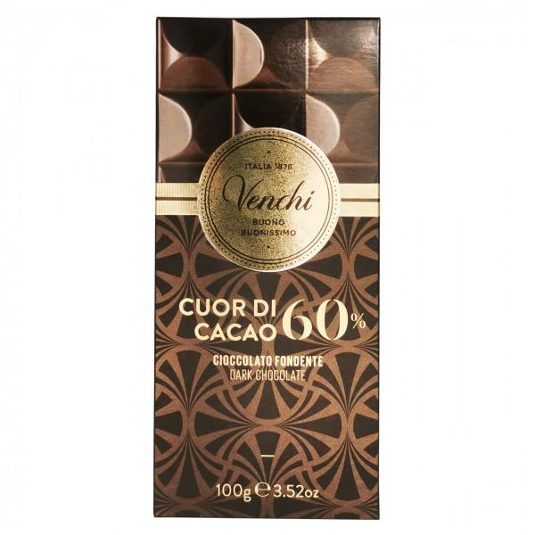 Venchi - Dunkle Schokolade mit 60% Kakao