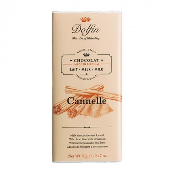 Dolfin - Vollmilch Schokolade mit Zimt