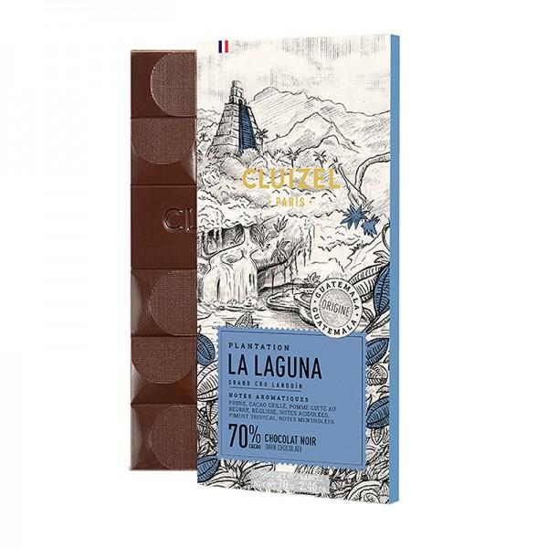 Michel Cluizel - Dunkle Plantagenschokolade La Laguna mit 70% Kakao