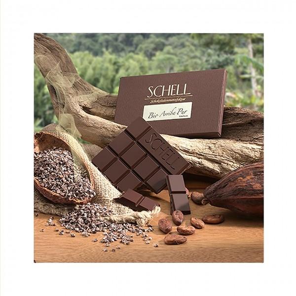 Schell Schokoladen - Bio Arriba pur 100%