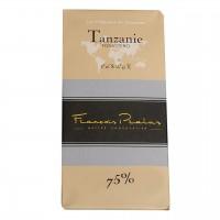 François Pralus - Dunkle Schokolade 75% Forastero-Kakao aus Tansania